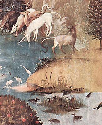 Картина с индриком