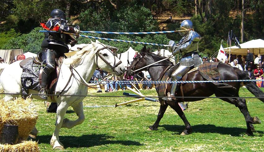 Боевые лошади